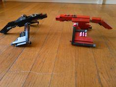 Lego ender dragon vs nether dragon