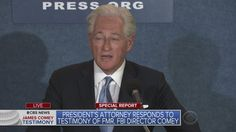 Trump Attorney Responds To Testimony By James Comey
