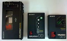 Sony's Pro Walkman portable cassette recorders were popular alternatives to the Marantz PMD series or the Nakamichi 550 for live field recordings.