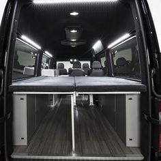 Mercedes Sprinter Vansports Camper Keeps Multi Day Adventure Sleek And Simple