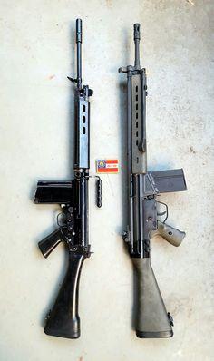 Military Weapons, Weapons Guns, Guns And Ammo, Assault Weapon, Assault Rifle, Fal Rifle, Battle Rifle, Hunting Rifles, Cool Guns