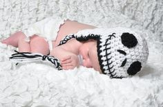 I found 'Jack Skellington Inspired Baby Hat from Nightmare Before Christmas' on Wish, check it out!