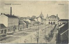 Timisoara - Gara - inainte de 1900