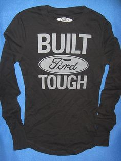 Ford Car Truck SUV Vintage Retro Womens Juniors 2XL Long Sleeve Thermal Shirt | eBay