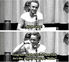 Tom Felton can call me anything he wants to call me.