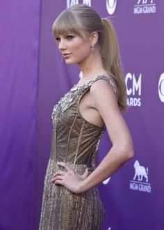 Taylor Swift pitched a fit about John Mayer's appearance at the ACM Awards Taylor Swift Style, Taylor Alison Swift, One & Only, Country Music Awards, Swift Photo, High Ponytails, Carrie Underwood, Celebs, Celebrities
