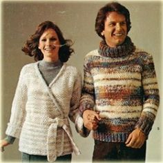 70s Knit Crochet Patterns Stole Afghan Jacket Scarf & Toddler Tops