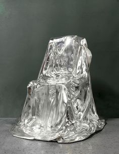 Silverlining bronze fauteuil, 1974, by Marina Karella, from Galerie du Passage.