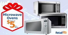 Enjoy Great Taste and Good Health with Microwave Ovens. Now available with weekly payments of $5. Shop Now
