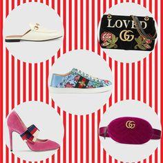 Mantenham-se inspirados com os acessórios lindinhos, disponíveis na loja online da grife.❤️ #beautiful #gucci #creative #fashion #accessories