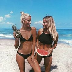 The beach is better with friends! Tag a gal pal you'd rather be soaking up the sun with