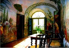 Villa di Geggiano, Italy - family home and winery of the Bianchi Bandinelli family since 1527.