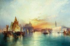 Thomas Moran - Venice