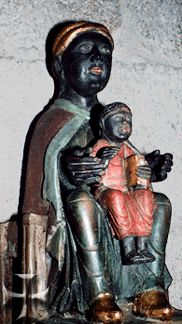 Our Lady of Meymac, France, 12th century