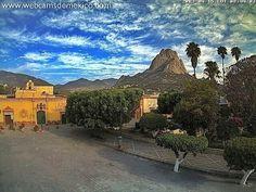 Pueblo mágico de Bernal, Querétaro, México.