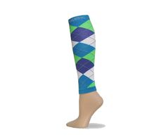 turquoise-purple-lime-white-argyle-calf-sleeves-copy
