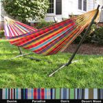 Costco: Double Hammock with Stand Double Hammock With Stand, Hammock Stand, Outdoor Rooms, Outdoor Living, Outdoor Furniture, Outdoor Decor, Backyard Paradise, Yard Design, Reno