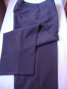 Pantalon De Vestir Metropolitan View Recto Sin Pinzas