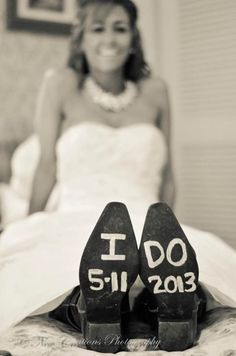 You'll always remember your wedding date by personalizing your wedding day cowboy boots. http://my.gactv.com/great-american-weddings/boots/sgallery.esi?soc=pinterest