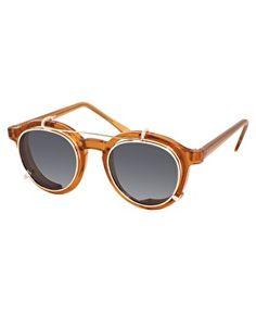 Gafas de sol redondas con lentes extraíbles de Spitfire. Lunette Ronde  HommeLunettes De Soleil ... 00f97165c749