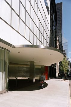 Museum of Modern Art, New York  by Edward Durell Stone and Philip Goodwin in 1939 (several additions and alterations since then, the latest one by Yoshio Taniguchi)