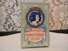 Antique Mirabeau Toilet Soap . Vintage Soap by Thirdxsacharm