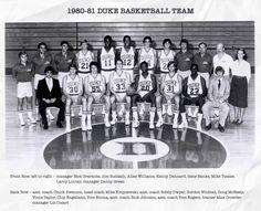 Allen Williams, Coach K, Back Row, Duke Blue Devils, Duke Basketball, One Team, Larry, Banks, Couches