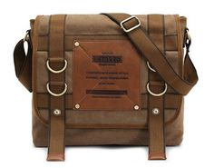 4a4ccfe24431 Amazon.com  KAUKKO FH02A Men s Korean Traveling Leisure Waterproof Canvas  Shoulder Bag  Computers   Accessories