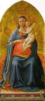 La Madonna col Bambino (Madonna di Pontassieve) è un'opera, tempera e oro su tavola (134x59 cm), attribuita a Beato Angelico, databile al 1435 circa o agli ultimi anni di attività dell'artista (1450 circa) e conservata nella Galleria degli Uffizi di Firenze.  Storia