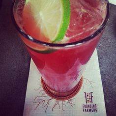 Homemade Hibiscus Soda #refreshing #summer #soda (Photo Credit @Eve Rosin so chic)
