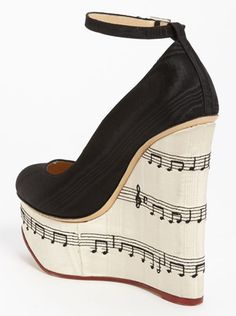 DIY Charlotte Olympia-Inspired Music Note Pumps