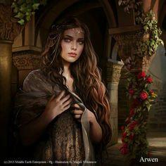 Arwen by Magali Villeneuve