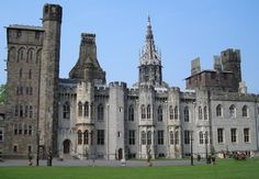 Cardiff Castle, Cardiff, South Wales, UK