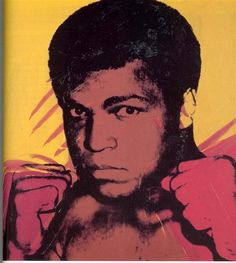 Andy warhol, Muhammad Ali,1979, pop art