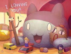 Catbug's Playtime by Ry-Spirit on deviantART #bravestwarriors