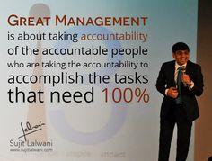 #Management #Entrepreneurship #Leadership #LifeSimplified #Accountability #Responsibility #InspirationUnlimited