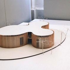 Architektur (notitle) The post appeared first on Architektur. Conceptual Model Architecture, Maquette Architecture, Architecture Design, Architecture Model Making, Paper Architecture, Organic Architecture, Arch Model, Building Design, Inspiration