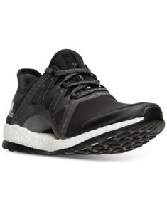 huge discount 8c6a0 68333 adidas Women s Pure Boost Xpose Running Sneakers from Finish Line - Black  6.5 Running Sneakers,