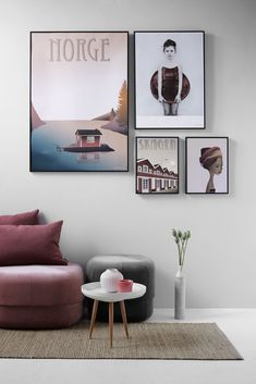 Monday inspiration - Marsala colour for children's rooms Skagen, Gallery Wall Frames, Monday Inspiration, Dere, Coloring For Kids, Illustrations, Office Decor, Geometric Patterns, Living Room Decor