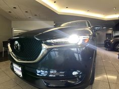 LED Headlights make you stand out in the Mazda CX-5. Anderson Mazda Rockford, IL