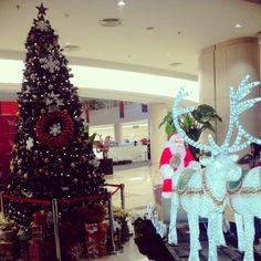 #Santa #Christmas #tree