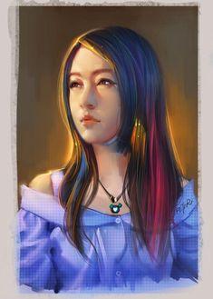Portrait Illustrations by Xiao Ji