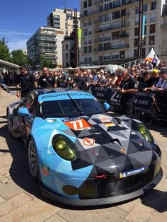 Dempsey Proton Racing Porsche 911 RSR at the 24 Hours of Le Mans