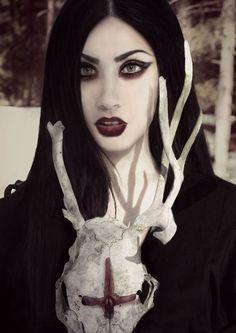 Beauty in the Darkness Goth Beauty, Dark Beauty, Alternative Girls, Alternative Fashion, Alternative Style, Vampires, Warrior Paint, Goth Hair, Ange Demon