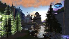 Fantasy Faire - Elvencourt Fantasy, Sims, Abstract, Artwork, Summary, Work Of Art, Imagination, Mantle, Fantasia