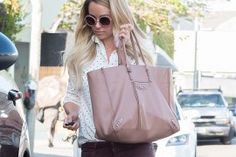 Lauren Conrad Stays True to Her Style with a Neutral Balenciaga Bag