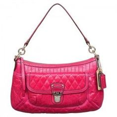 Coach Poppy Quilted Leather Groovy