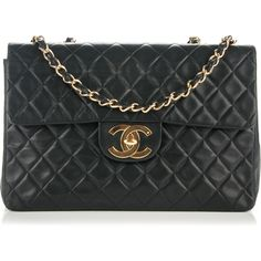 Chanel Quilted Flap Xl Bag as seen on Heidi Klum