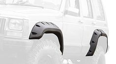 Outland 391163410 6 Piece All Terrain Fender Flare Kit for Jeep Cherokee XJ (4-Door)