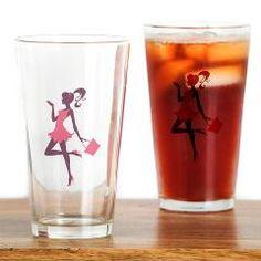 Drinking Glass > Elegant Lady